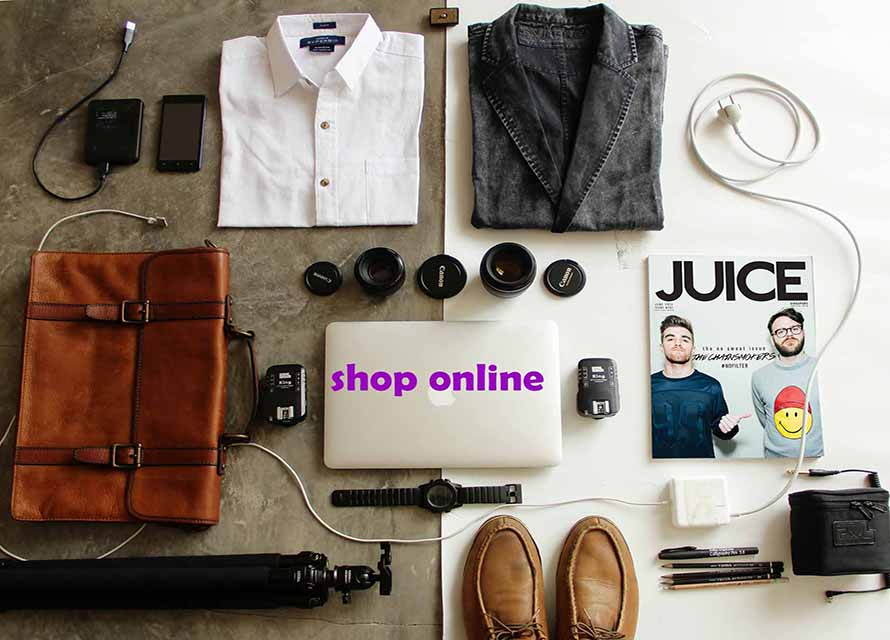 image of e commerce website