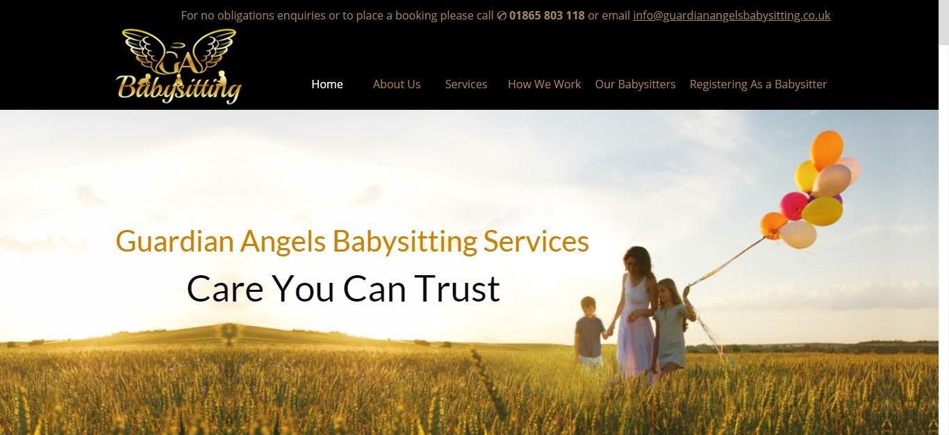 Guardian Angels Babysitting Services Ltd