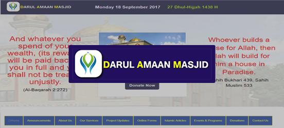 Darul Amaan Masjid